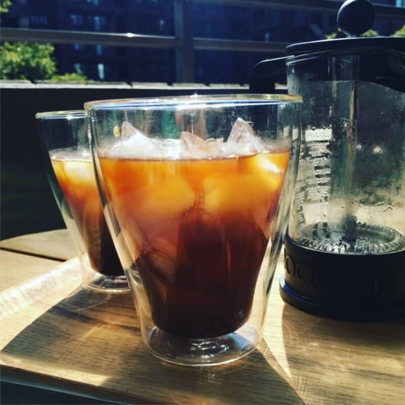 ドリップコーヒー、アイス3